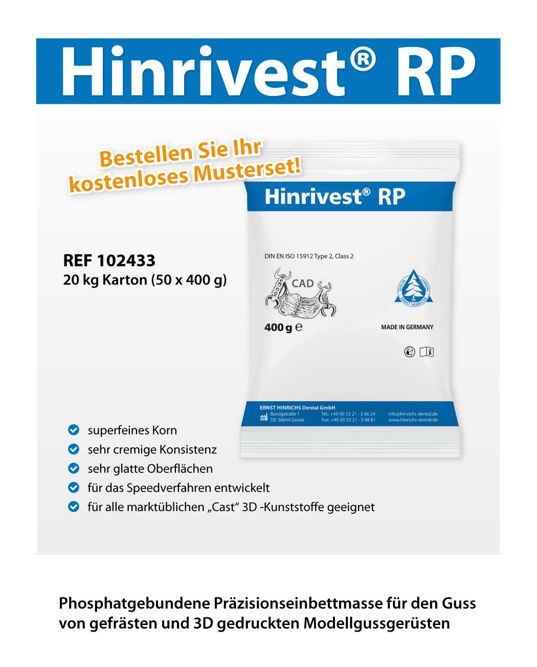 hinrivest rp A5Musterset